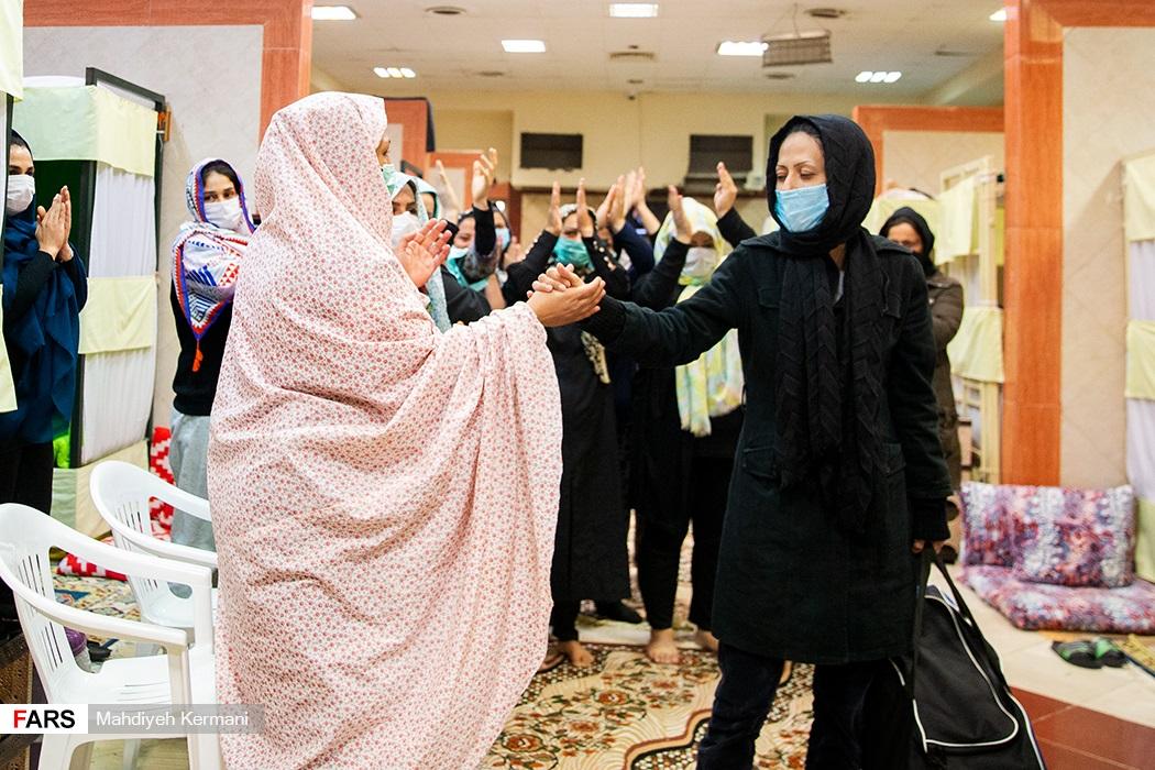 عکس/ بازدید از ندامتگاه زنان آزادی مادران زندانی