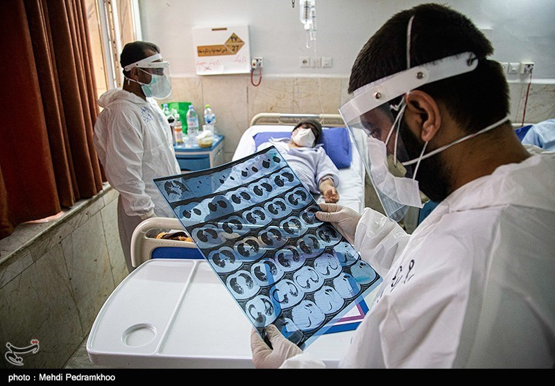 عکس/ بیمارستان گلستان اهواز در وضعیت قرمز