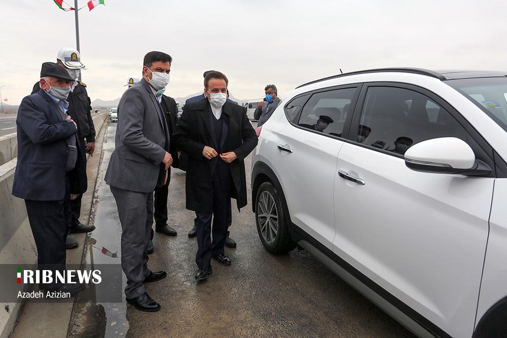 افتتاح پروژههای شهری با حضور رئیس دفتر رئیسجمهور در اصفهان