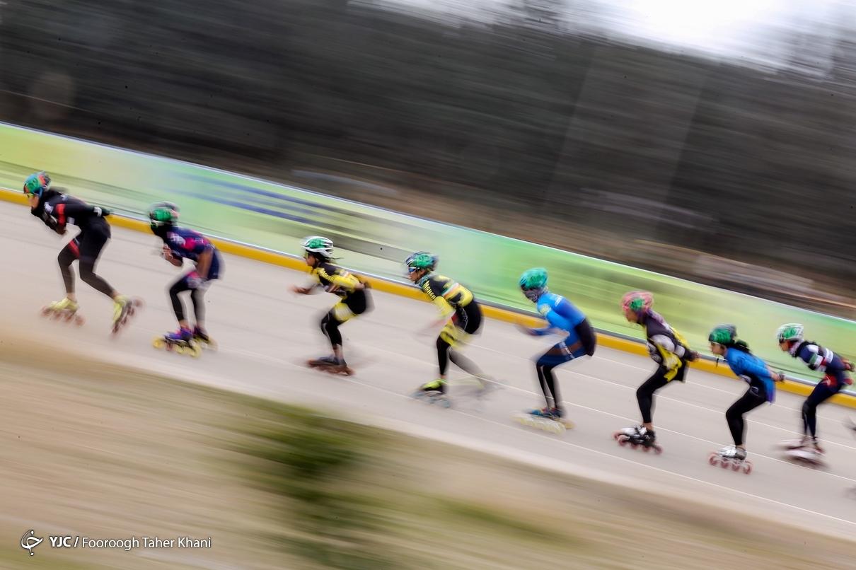 مسابقات اسکیت سرعت بانوان