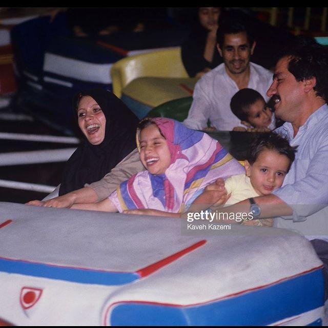 تفریح خانوادگی در تهران سال 73