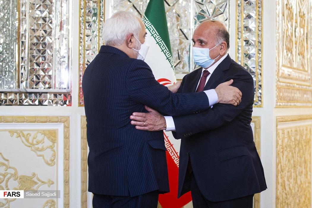 عکس/ دیدار وزیر امور خارجه عراق با ظریف