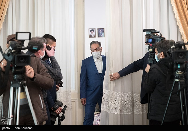 عکس/ دیدار وزیر خارجه عراق با شمخانی