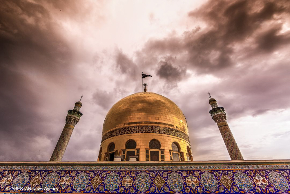 عکس/ حال و هوای حرم مطهر حضرت زینب(س)