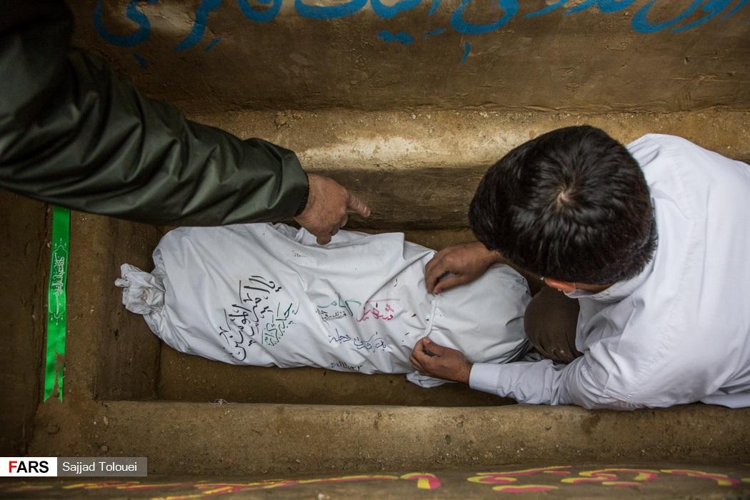 عکس/ تشییع پیکر پاک دو شهید گمنام در تهران