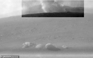 ناسا تصاویری از محل سقوط سیستم