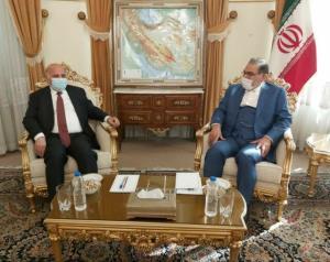 وزیر خارجه عراق با شمخانی دیدار و گفتگو کرد