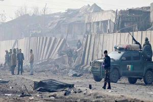 وقوع ۲ انفجار در شهر کابل