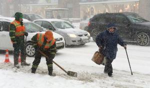 روشی عجیب برای پاکسازی برف در مسکو!
