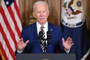 بایدن: امیدوارم سنا بسته حمایتی را به سرعت تصویب کند