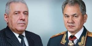 بررسی آخرین وضعیت قرهباغ در تماس وزرای دفاع روسیه و ارمنستان