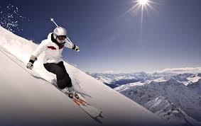 نمایی دلهره آور از اسکی