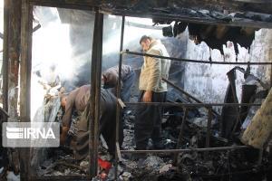 آتش سوزی محدود در حرم عبدالعظیم (ع) مهار شد