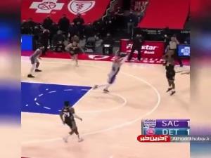 صحنههای زیبای بامداد امروز NBA