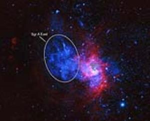 کشف بازماندههای یک ابرنواختر کمیاب در مرکز کهکشان