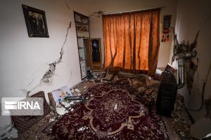 ۱۸۰۰ خانه در زلزله سیسخت تخریب شدند