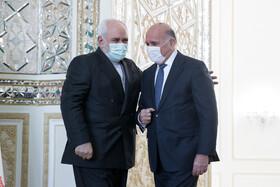رایزنی وزیر خارجه عراق با ظریف در تهران