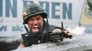 سکانسی خاطره انگیز از فیلم جنگی «غلاف تمام فلزی»
