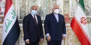 ظریف: در دیدار همتای عراقی بر تعهد ایران نسبت به ثبات عراق تأکید کردم