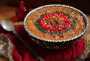 آش انار به سبک استان چهارمحال و بختیاری