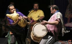 خلق موسیقی با استخوان پرنده و پوست بز در ایران!