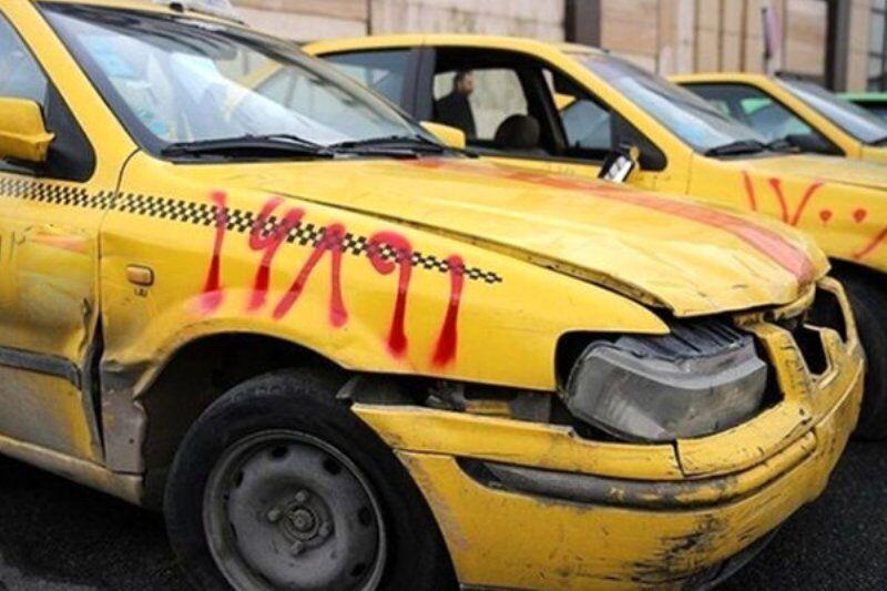 ۲۵ درصد تاکسیهای درون شهری گنبدکاووس فرسوده است