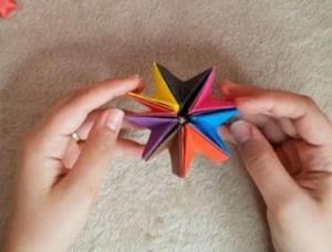 آموزش اوریگامی حرکتی برای سرگرمی کودکان