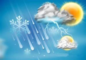 بارشهای پراکنده از فردا در مازندران