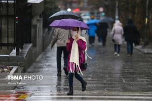 پیشبینی بارش برف و باران طی روز دوشنبه در کهگیلویه و بویراحمد
