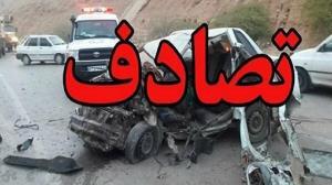 تصادف پژو ۲۰۶ با تریلی در دشتستان حادثه آفرید