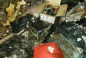 انفجار مواد محترقه در قزوین ۲ مصدوم برجای گذاشت
