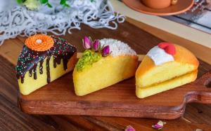 آموزش تهیه کیک سمولینا