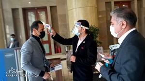 ورود علی کریمی و گزینههای ریاست فدراسیون فوتبال به سالن اجلاس