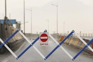مسیر ارتباطی شهرستان کوهرنگ به مسجد سلیمان خوزستان مسدود شد