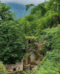 عکس/ نمایی زیبا از قلعه رودخان