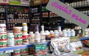 یک تن سموم قاچاق از فروشگاههای کشاورزی عنبرآباد کشف شد