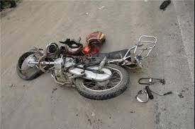 واژگونی مرگبار موتورسیکلت در اصفهان