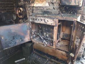 آتش سوزی در یک کارخانه مواد غذایی شهرک صنعتی