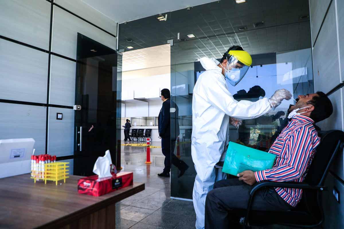 الزام آزمایش PCR در فرودگاههای خوزستان