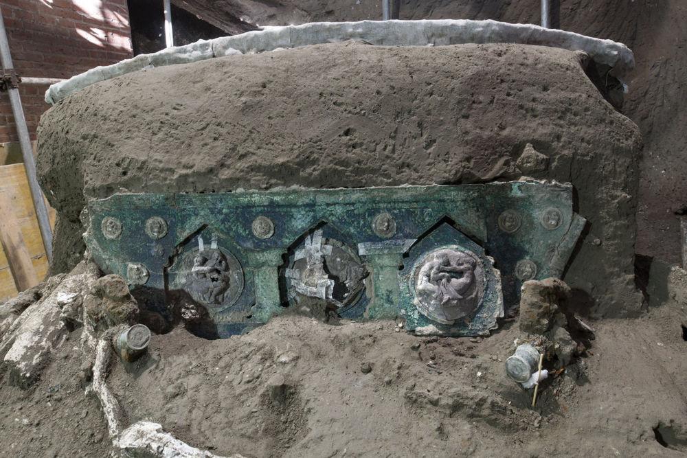 ارابه باستانی «شهر سوخته» ایتالیا