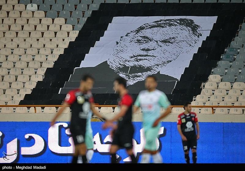 تصویری از سرمربی فقید پرسپولیس در ورزشگاه آزادی