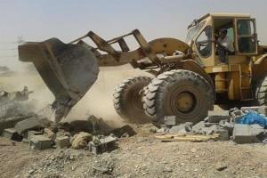 ۷ قطعه زمین از اراضی دولتی در رمچاه قشم رفع تصرف شد