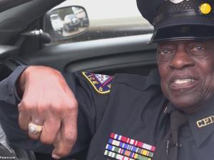 پلیس ۹۱ ساله آمریکایی!