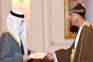 ارسال پیام مکتوب امیر کویت به سلطان عمان