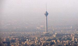 هوای تهران در وضعیت ناسالم قرار دارد