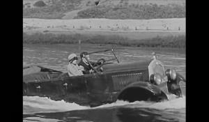 صحنه های دیوانه واری از خودروها در سینمای 100 سال پیش!