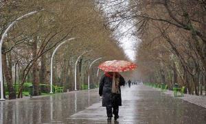 هشدار هواشناسی درباره بارش های پایان هفته