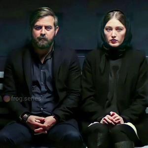 تصویری از لیلا و شمس آبادی در سریال قورباغه