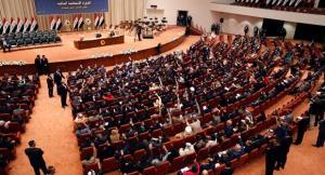 درگیری فیزیکی و پرتاب کفش در پارلمان عراق
