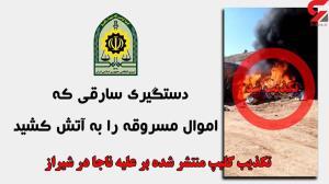 پشت پرده یک فیلم علیه پلیس شیراز